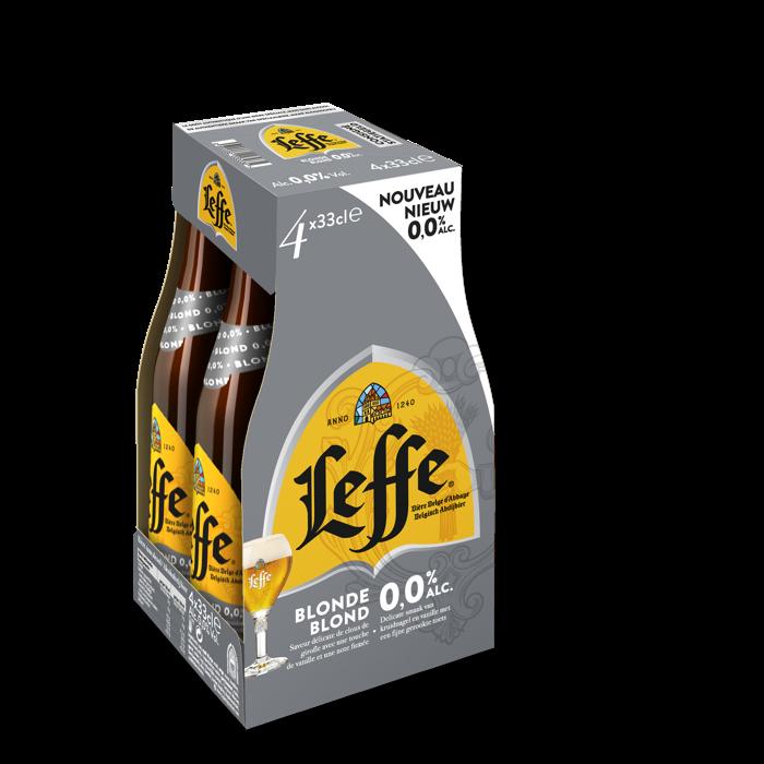 Leffe Blond 0.0%: het allereerste volledig alcoholvrije abdijbier in België