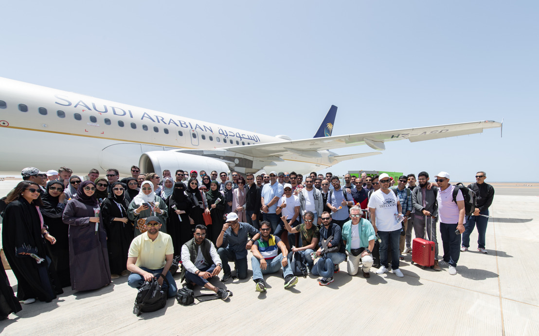 Saudia, GACA support The Red Sea Development Company Employee Site Visit