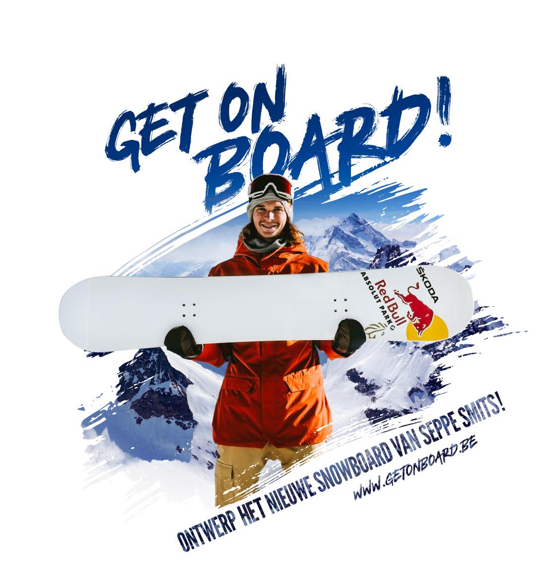 Wie wordt de ontwerper van het nieuwe snowboard van Seppe Smits?