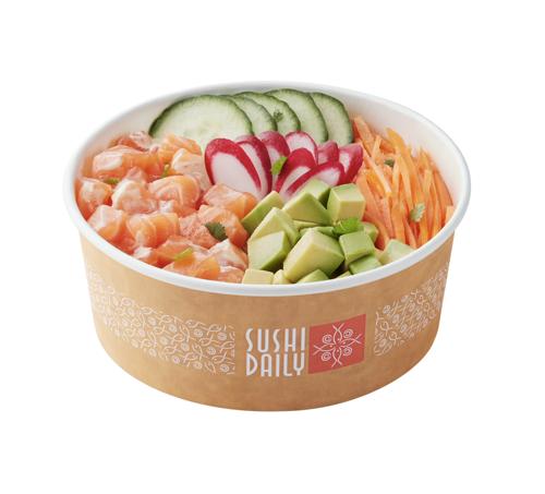 Les Poke Sushi Bowls : un vent frais venu d'Hawaï souffle sur les kiosques Sushi Daily