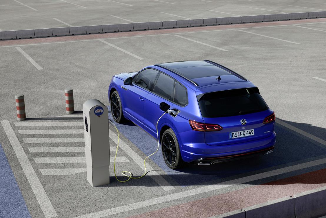 Touareg R : le modèle hybride rechargeable de Volkswagen R allie dynamisme maximal et efficacité électrique (traduction)