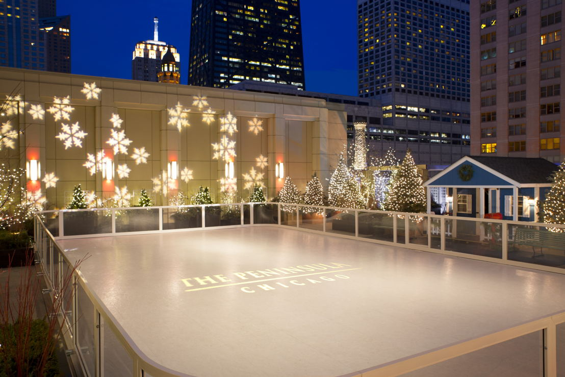 The Peninsula Chicago Sky Rink