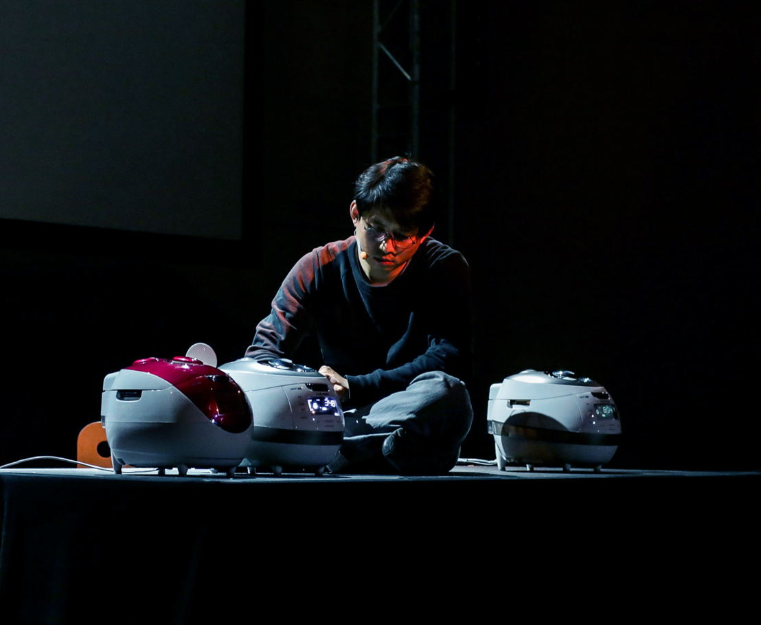 Fr. 23 &amp; Sa. 24 - theatre: February  <br/>Jaha Koo (KR/NL) - Cuckoo <br/>© Eunkyung Jeong / Wolf Severi