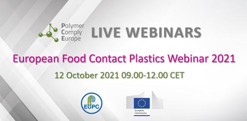 Preview: European Food Contact Plastics Webinar 2021