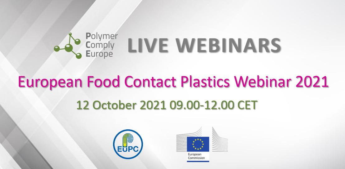 European Food Contact Plastics Webinar 2021