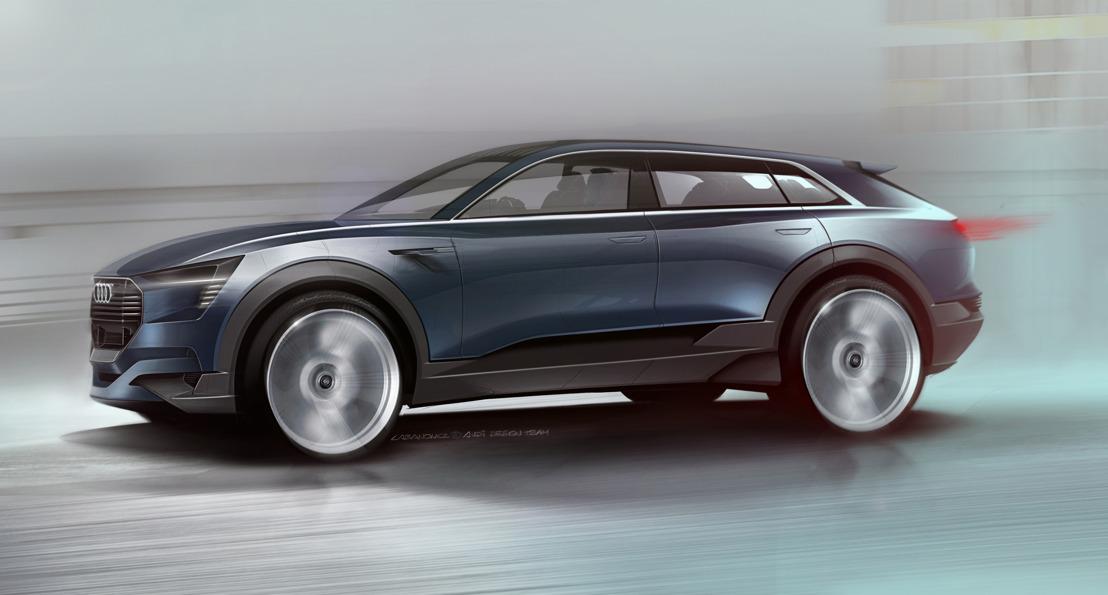 Avant-goût de la production en série : l'Audi e-tron quattro concept à l'IAA 2015