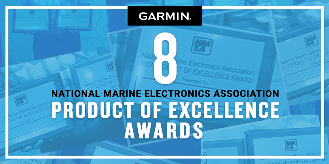 """Garmin in de schijnwerpers tijdens de """"NMEA Awards"""" met 9 onderscheidingen en geselecteerd als officiële leverancier voor de Volvo Ocean Race"""