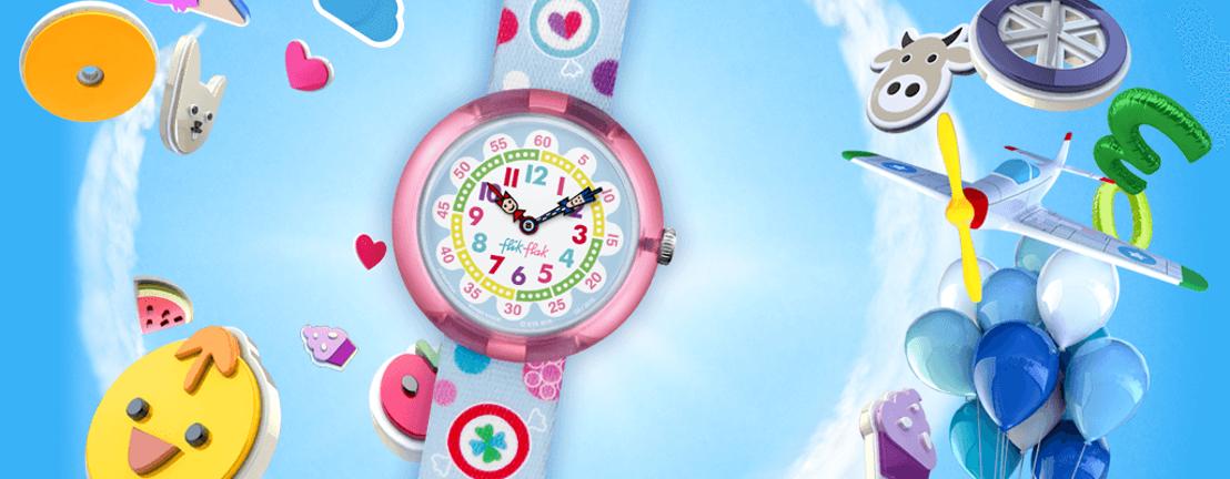 Flik Flak: ¡los niños nunca llegarán tarde a clase!