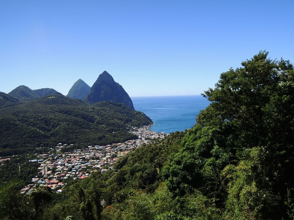 Soufriere, Saint Lucia -  one of the country's most visited towns brimming with further tourism potential.