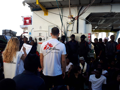 MSF briefing note - Aquarius: European governments must put people's lives before politics