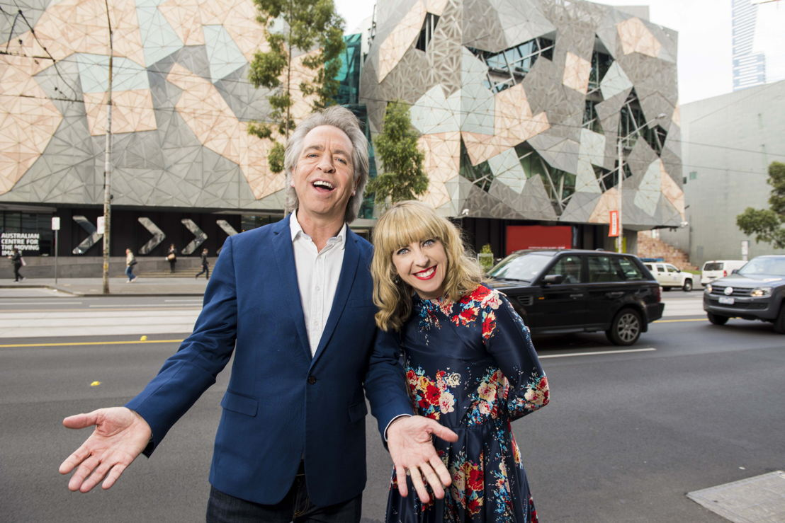 The Friday Revue's Richelle Hunt and Brian Nankervis
