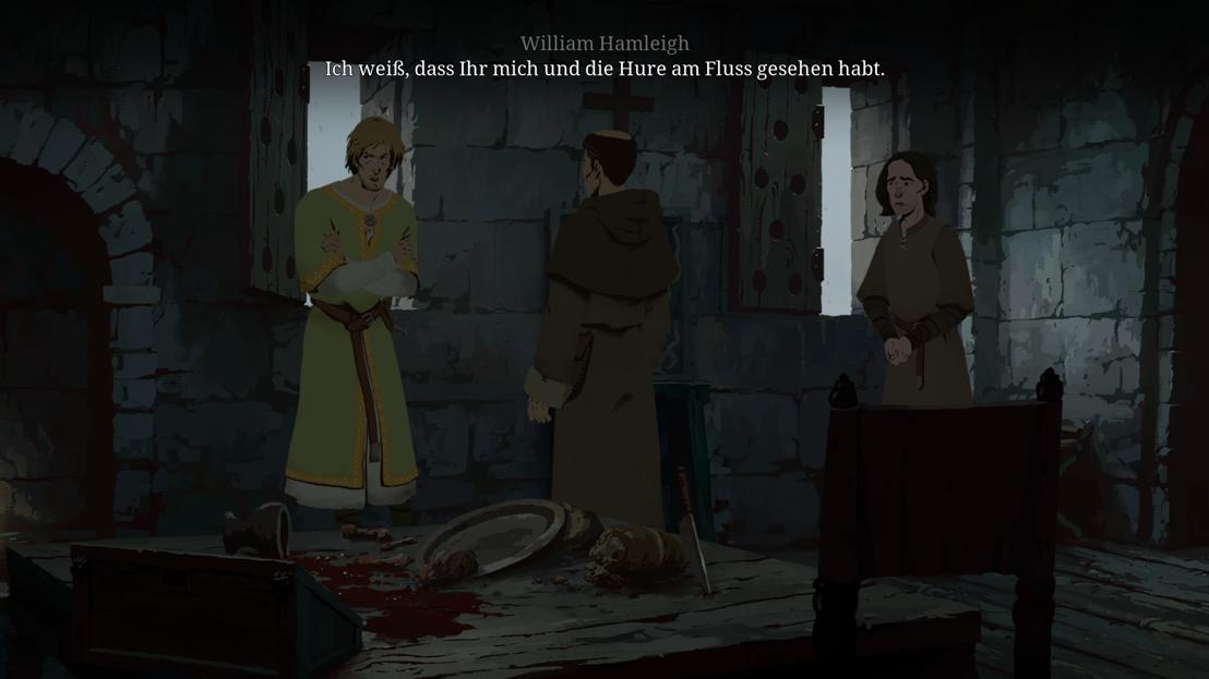 Philip gerät in eine unangenehme Situation mit William Hamleigh