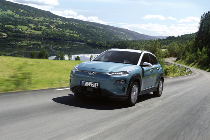 Driving range of Hyundai Kona Electric to be corrected