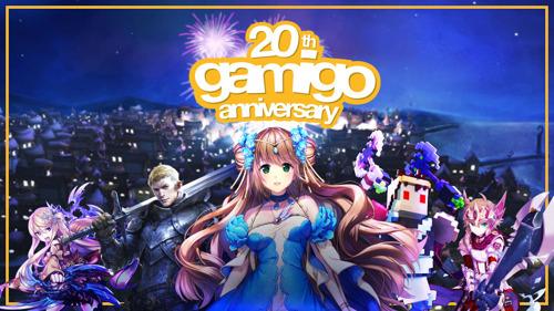 gamigo celebrates 20 years!