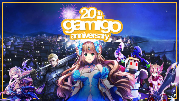 Preview: gamigo celebrates 20 years!