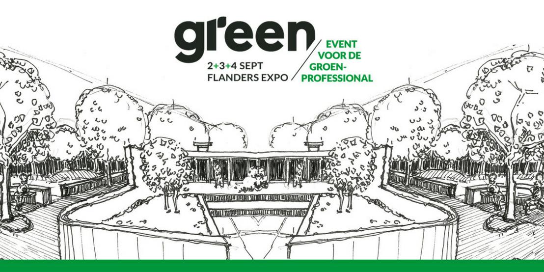 Green – Het event voor de groenprofessional van 2 tot 4 september in Flanders Expo Gent
