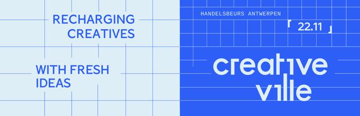Creative Ville brengt alle 12 creatieve sectoren* samen op één inspiratie-event