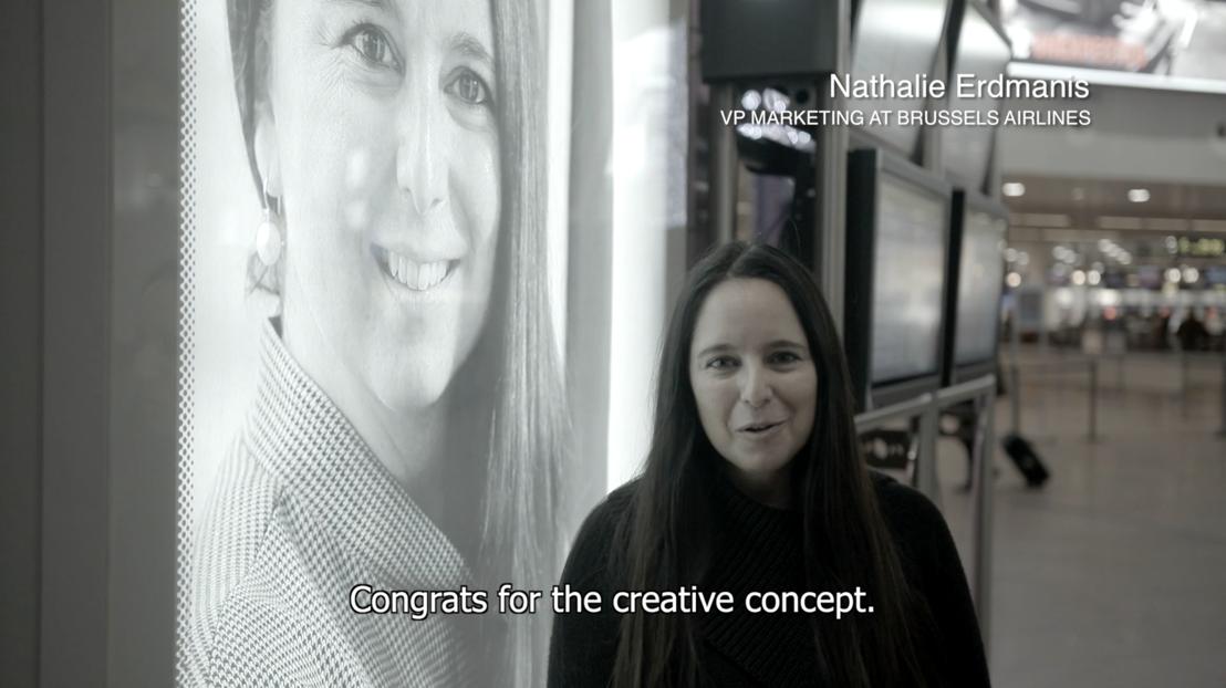 Reaction Nathalie Erdmanis (Brussels Airlines)