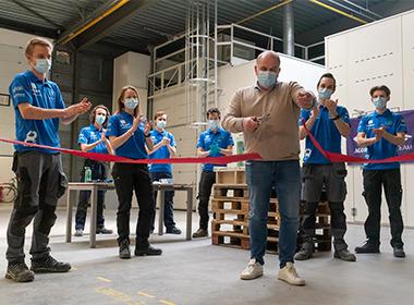 Agoria Solar Team start met bouw van de negende Belgische zonnewagen in Arendonk