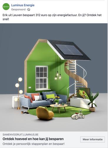 Havas en Luminus bouwen een virtueel huis om energie te besparen