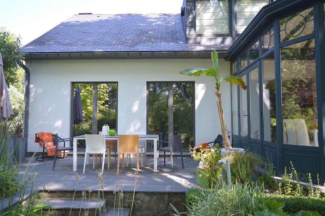 Une nouvelle façade pour un look de villa de vacances