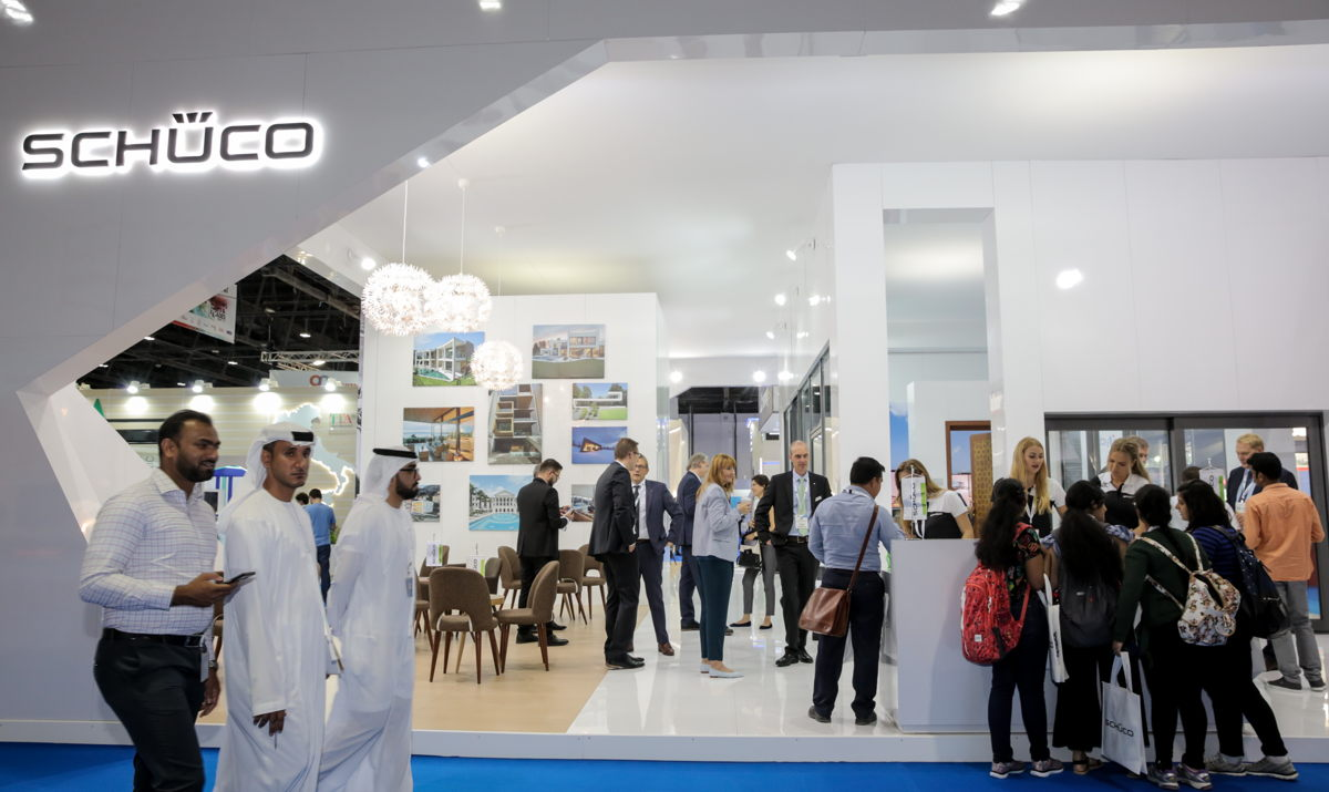 Schuco's stand at WDF 2018