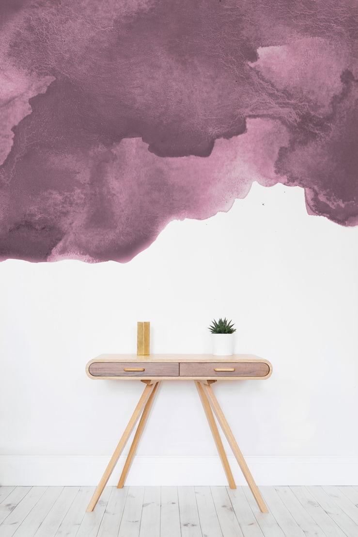 Dusky Purple Watercolour - Lifestyle