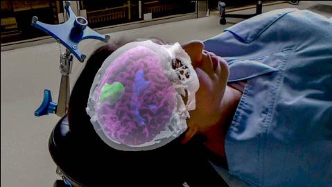 Operatie ondersteund door hologram