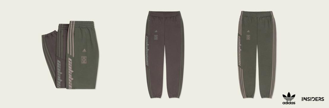 adidas Originals + KANYE WEST anuncian la llegada de nuevos colores del CALABASAS TRACK PANT