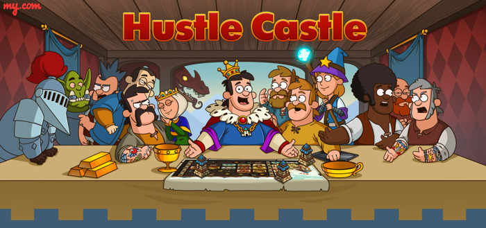 Kingdom simulator Hustle Castle available worldwide on iOS and Android
