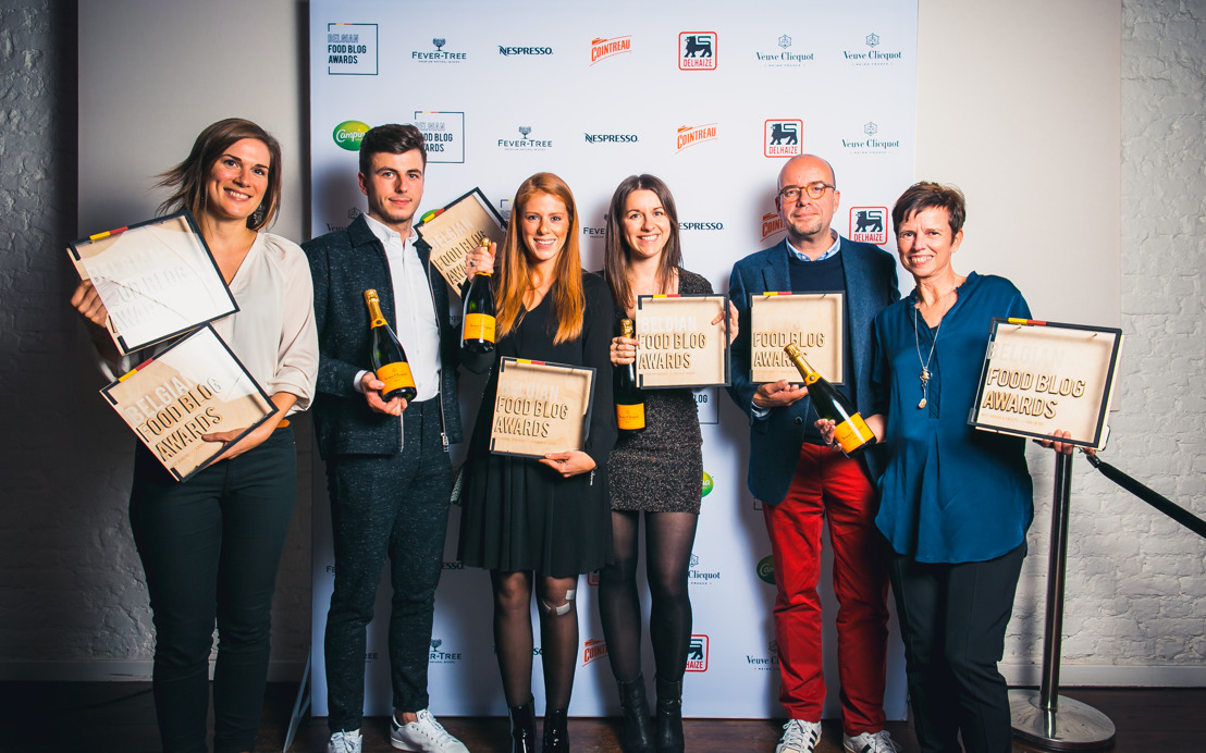 Applaudissements pour les lauréats des Belgian Food Blog Awards !