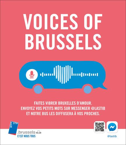 La STIB & mortierbrigade font vibrer Bruxelles d'amour