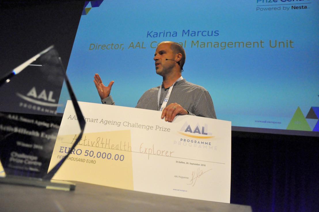 Activ84Health wint prestigieuze Europese technologiewedstrijd