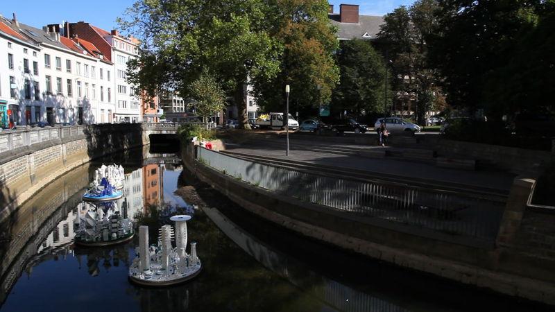 UTOPIA 3 - Utopische drijvende steden @SLAC/Academie Beeldende Kunst