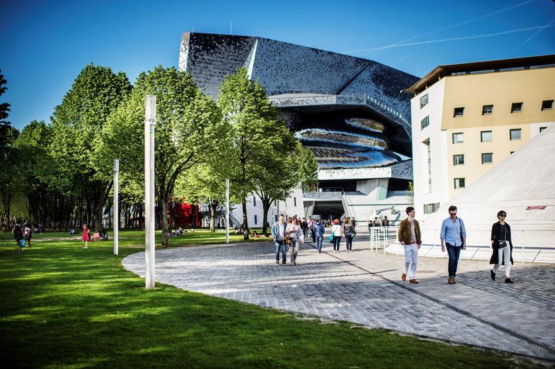 Cité de la Musique, Philharmonie de Paris ©William Beaucardet