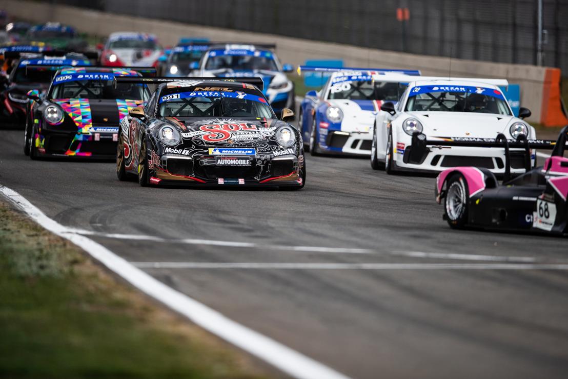 Des débuts animés pour le Porsche Endurance Trophy à Zolder !