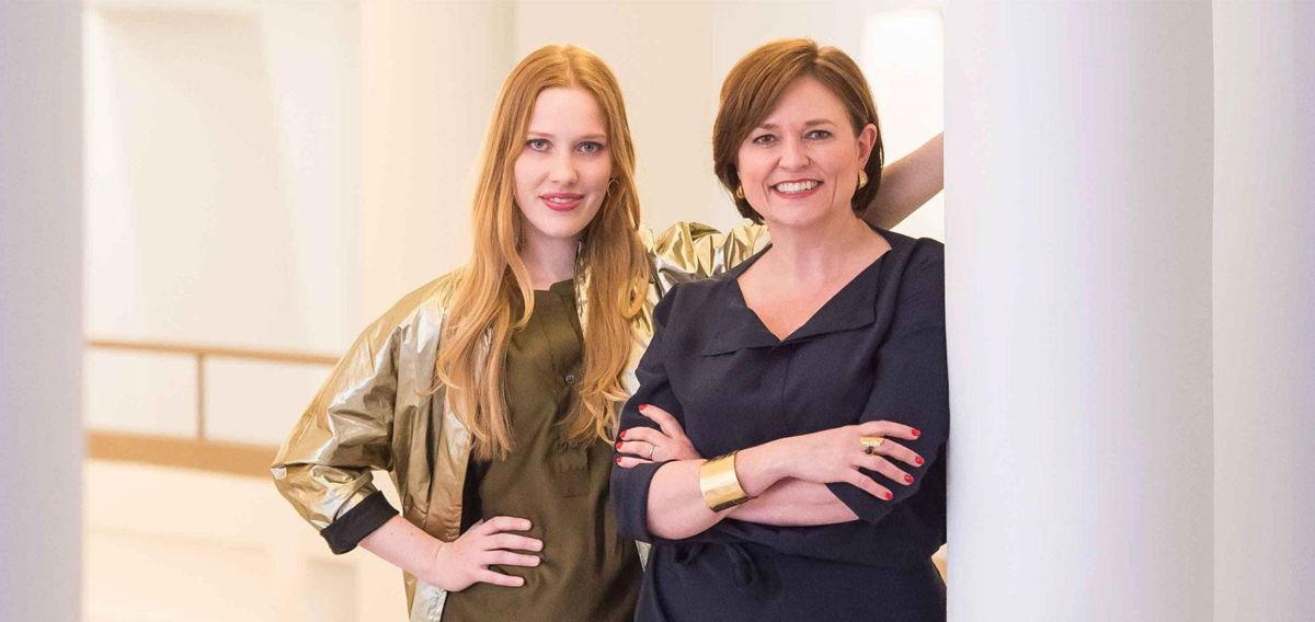 Katelijne Boon en Clara De Decker - (c) VRT