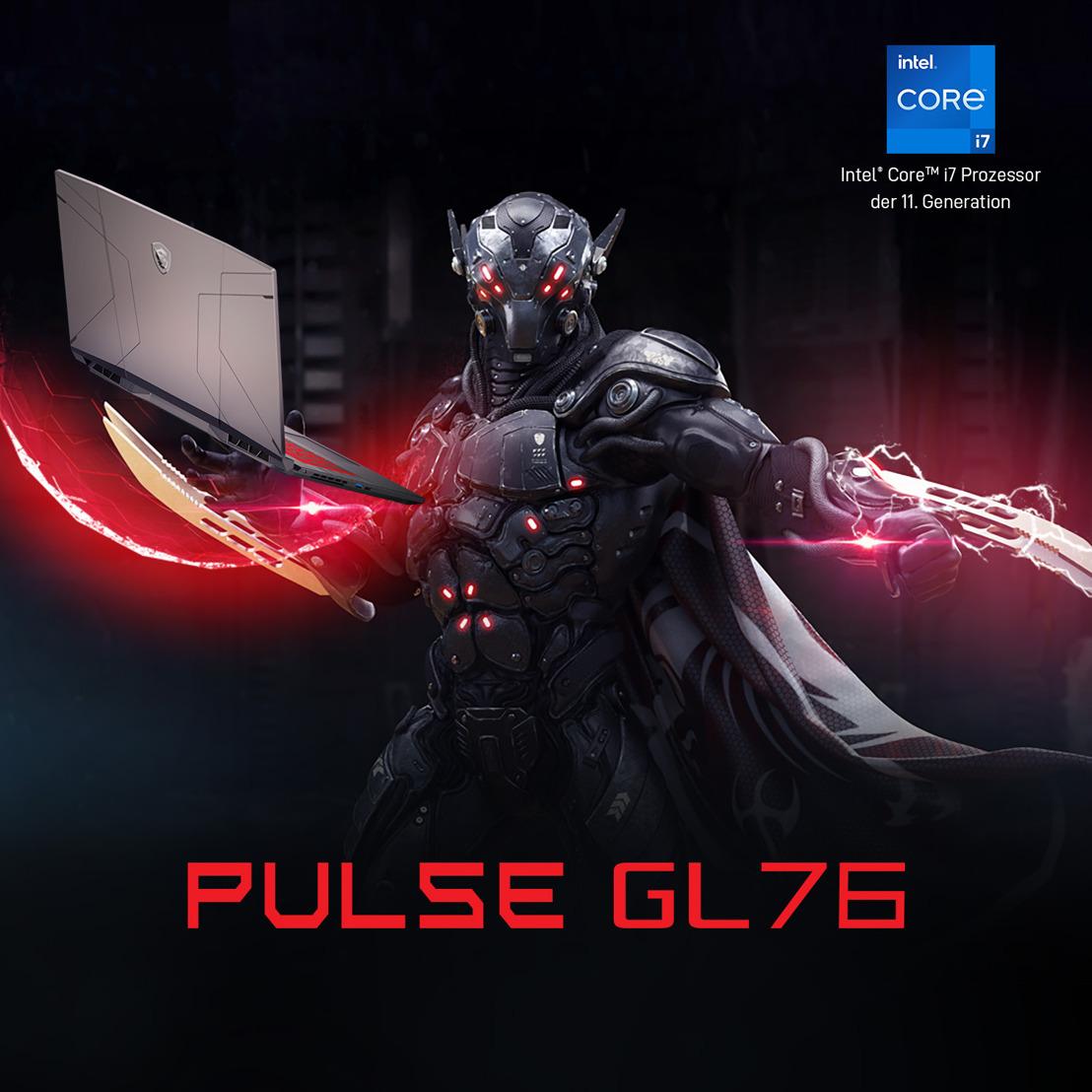 Pulse GL76: Laptop-Gaming auf imposantem Niveau