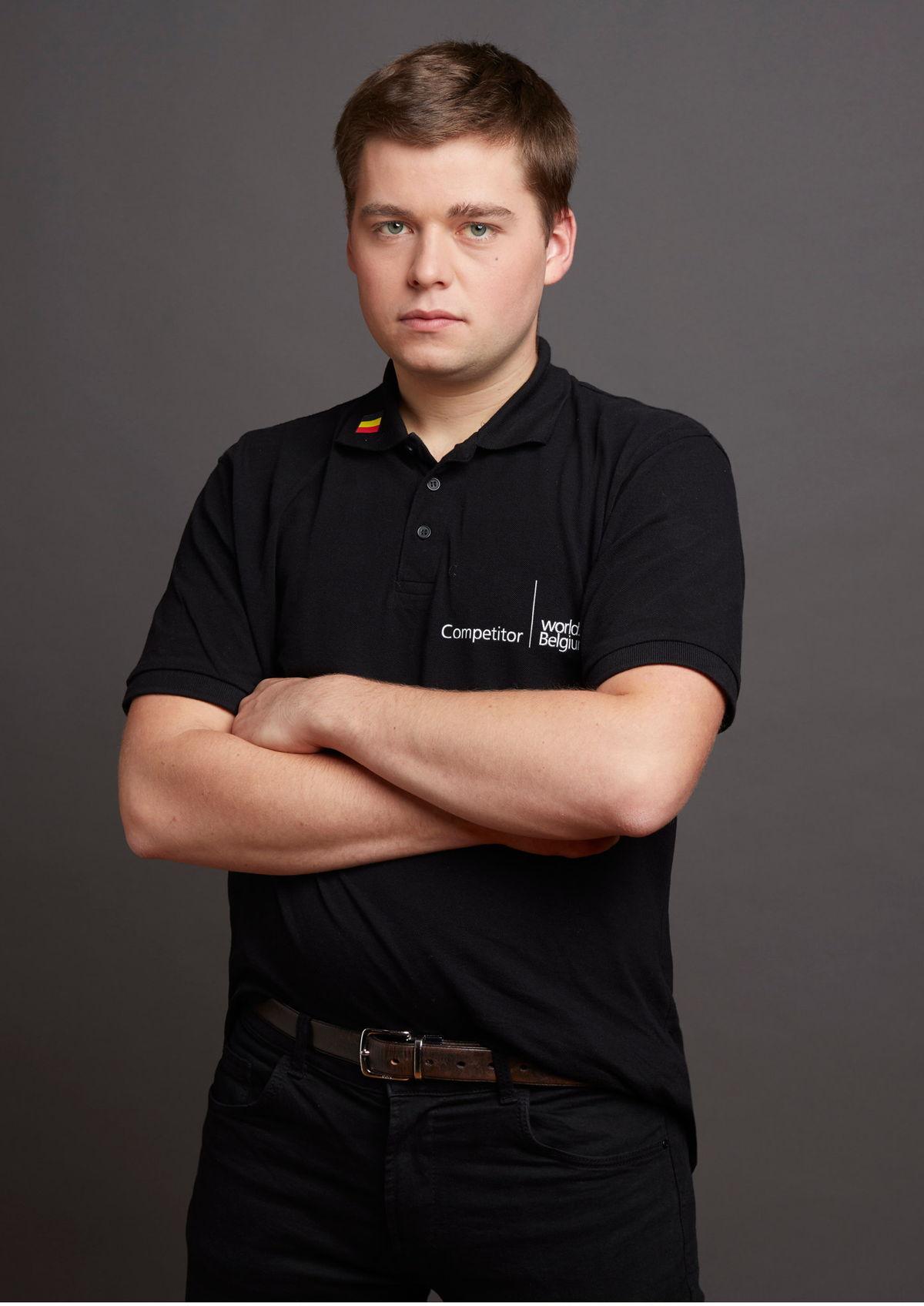 Guillaume Hermans, 21 ans, participe à son premier concours international