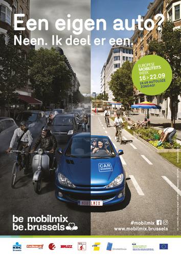 Shared Mobility staat centraal tijdens Week van de Mobiliteit en Autoloze Zondag
