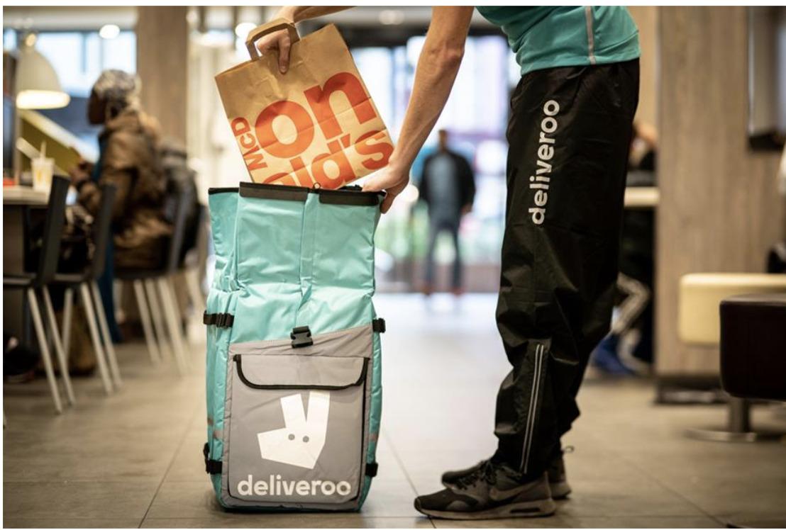 Deliveroo & McDonald's kondigen een nieuwe samenwerking aan in Hasselt !