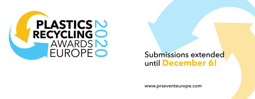 Plastics Recycling Awards Europe Entry Deadline Extended to 6 December