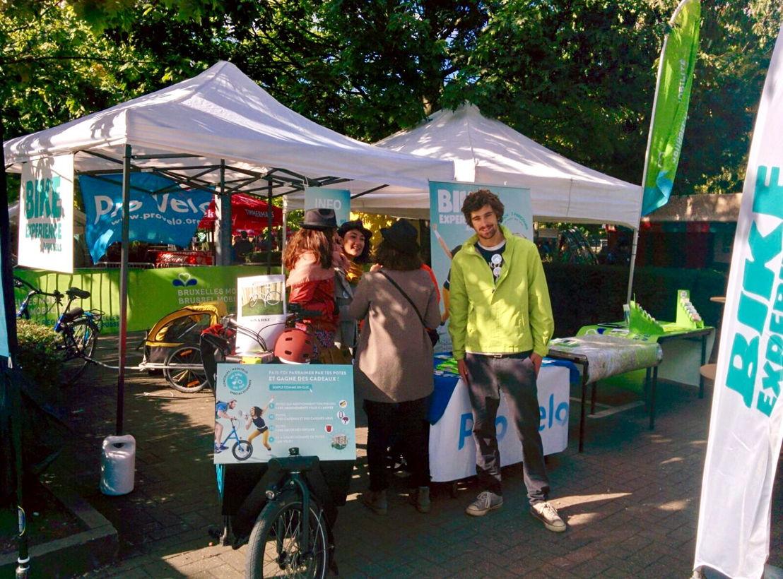 Action Bike Experience à l'ULB