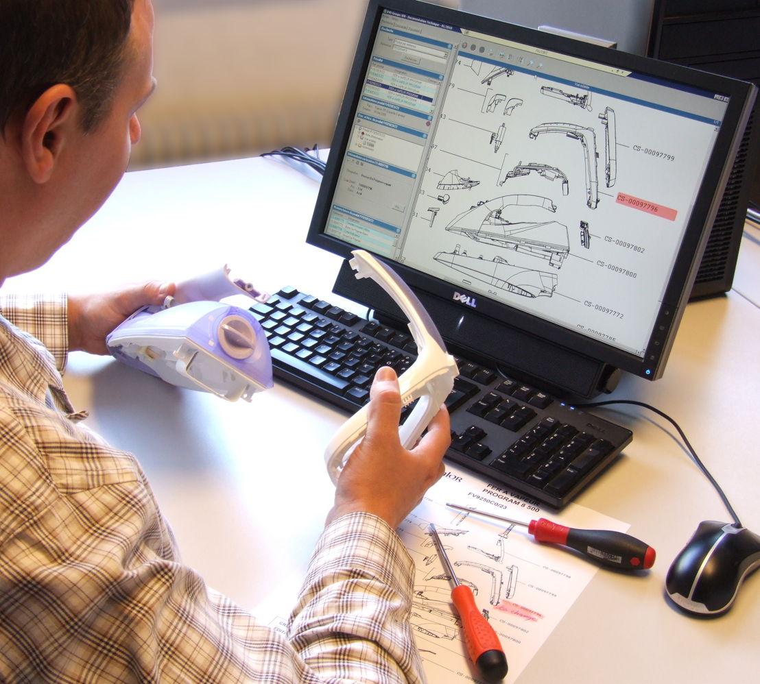 Ontwerpers bij Groupe SEB denken al vanaf de eerste schets aan de mogelijkheden om apparaten te herstellen