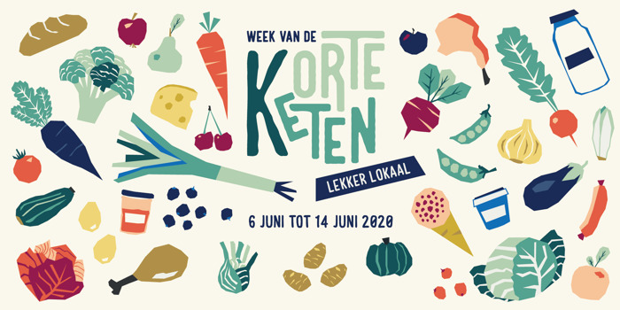Doe mee aan de Week van de Korte Keten van 6 tot 14 juni 2020