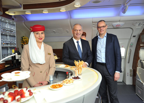 "Introducing ""Your World Rewards"" - Emirates Skywards and Starwood Preferred Guest® Join Forces to Extend Benefits across the Sky and Around the Globe"