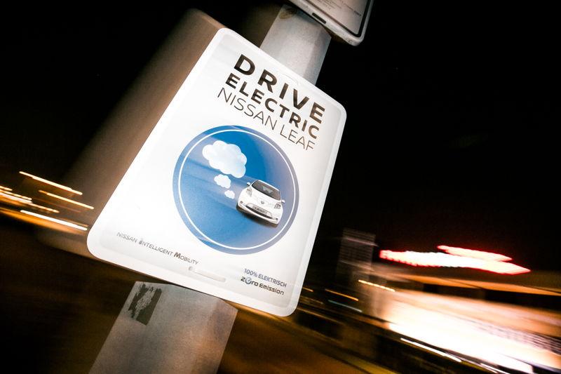 Nissan Leaf Action - Zone Zéro émission
