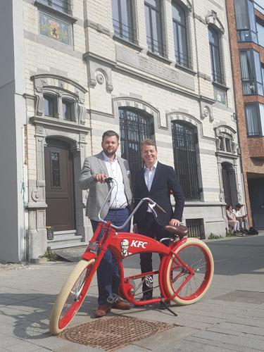 KFC opent 40 restaurants in Vlaanderen