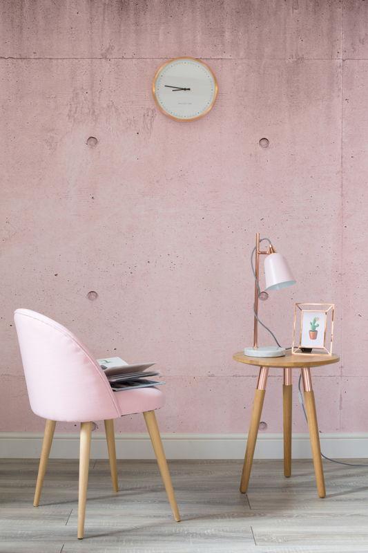 Pink Modern Concrete