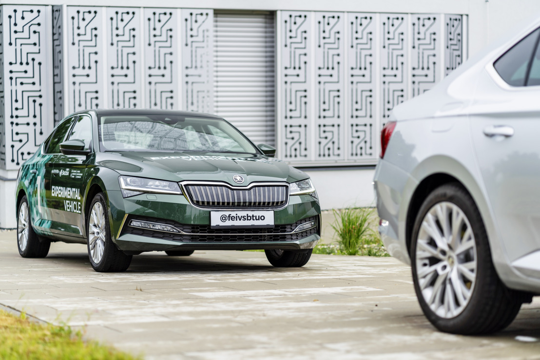 'Follow the Vehicle': ŠKODA AUTO and the VŠB - Technical University of Ostrava collaborate on automated car convoy project